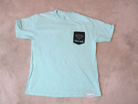 Diamond Supply Company Shirt Size Adult Large Green Black Pocket Tee Mens *