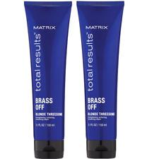 2x Matrix Total Results Brass Off Blonde Threesome je 150 ml