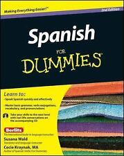 Spanish for Dummies® by Cecie Kraynak and Susana Wald (2011, CD-ROM / Paperback)