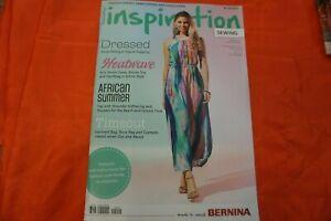 NEW BERNINA INSPIRATION  SUMMER  No. 02/2021 SEWING MAGAZINE