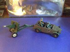Britains Ltd WW2 German Kubelwagen Vehicle & Artillery