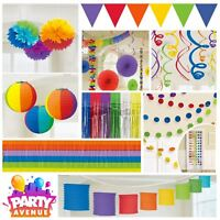 Gay Pride Rainbow LGBT Parade Festival Decoration Banner Bunting & Party Bag