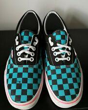 Chaussures Femme Vans Skater Emo Carreaux Toile Baskets-UK 8