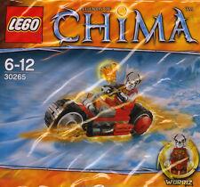 LEGO Chima 30265 Worriz' Fire Bike  - Brand New Unopened Polybag Kit
