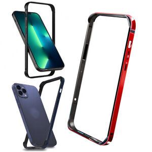 """Bumper Evo für Apple IPHONE 13 Pro 6.1 """" Schutzhülle TPU + Metall Cover Rand"""