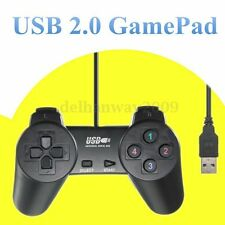 Wired USB 2.0 Game Pad Joystick Joypad Controller for PC Laptop Computer Black