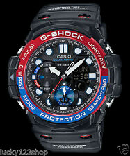 GN-1000-1A Blue Black Casio Watches G-Shock Analog Digital Compass Resin Band