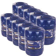 MANNOL Energy 10x 20 Liter [200L] Kanister 5W-30 Motoröl 5W30 API SL/CF Öl