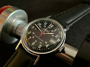 Popular vintage military type date watch TIMEX SPRITE GB 1979 M25 SERVICED