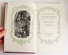 LES LIAISONS DANGEREUSES Folio Society 1962 Choderlos de Laclos illust NO BOX VG