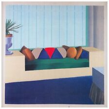 Some Neat Cushions, David Hockney print in 11 x 14 mount ready to frame SUPERB