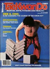 Tae Kwon Do Times Magazine-July,1984