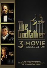 The Godfather Trilogy 3 Disc DVD Box Set Full Movie Collection Oscar Winner New