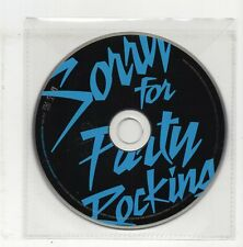 (JS710) LMFAO, Sorry For Party Rocking - 2011 CD