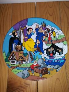 """DISNEY COLLECTION """"THE ENCHANTMENT OF SNOW WHITE"""" FIRST EDITION PLATE LE"""