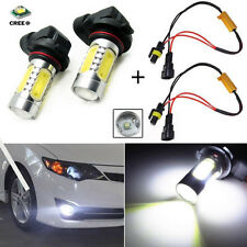 2X 9006 HB4 Bright White 11W LED Fog Light Driving For BMW 5Series E39 530i 2004
