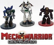 MechWarrior Age of Destruction Miniature Mech Figurines & Game Pieces Wizkids