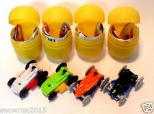 KINDER SURPRISE SPRINTY COMPLETE SET TOYS  CARS SD202 SD203 SD202A SD203A