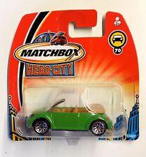 Matchbox Hero-City Volkswagen New Beetle Convertible - green
