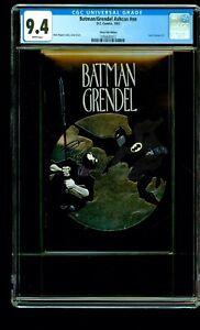 BATMAN GRENDEL CGC 9.4 PLATINUM SILVER MOON VARIANT HERO PREMIERE #2 ASHCAN