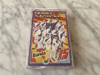 Banda R-15 La Unika Y Autentika Cassette Tape SEALED! ORIGINAL 2000 Disa NEW!