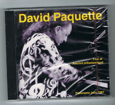 DAVID PAQUETTE - LIVE AT AESCH/LU/SWITZERLAND - CD 14 TITRES - 1987 - NEUF NEW