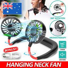 Hanging Neck Fan Travel Portable USB Charging Fan Lazy Creative Sports Fan Tool
