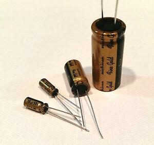 Nichicon MUSE Fine Gold (FG) Capacitors