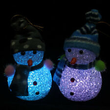 Christmas Snowman Ornaments Festival Party Xmas Tree Hanging Decoration Gifts