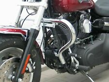 Motorschutzbügel BIG chrom protection guard Ø 38mm Harley Davidson Dyna Fat Bob
