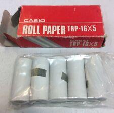 Vintage Casio Roll Paper TRP-16x5 UsedOfficeShop.com