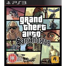 Grand Theft Auto San Andreas PlayStation 3 Ps3 Game Pegi 18 Post (bri)