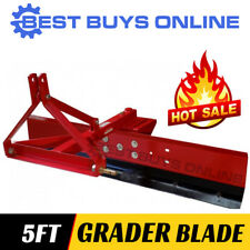 NEW Grader Blade 5 ft 150 cm suit Tractor 3 point linkage Adjustable Angle
