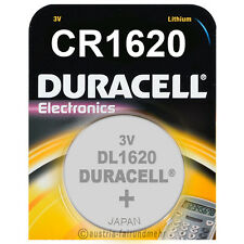 1x CR1620 DURACELL Electronics Lithium Knopfzelle DL1620 3Volt