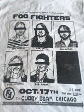 Foo Fighters Concert Tour T Shirt Small The Cubby Bear Chicago New Rock