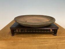 """Handmade Mame Or Shohin Size Bunjin Style Bonsai Tree Pot 1st Gen Yamaaki 5 7/8"""""""