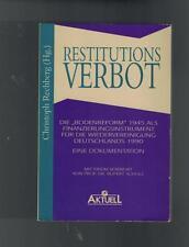 Christoph Rechberg - Restitutions Verbot