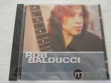 Rob Balducci - Mantra - CD Neu & OVP NEW & Sealed