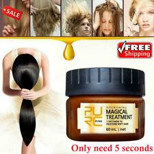 PURC 60ml Magical Keratin Hair Treatment Mask 5 Seconds Repairs Damage Hair C4S7