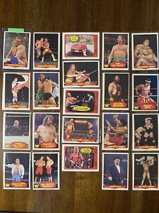 1985 OPC O-Pee-Chee Wrestling Set (72 Cards) - Hulk Hogan Macho Man WWE WWF