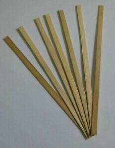Bamboo Fairy Floss Sticks 250mm Pack 100