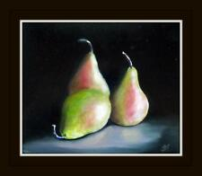 A Conference of Pears :  Original Oil Painting by Susan Ballantyne - Mortimer