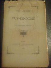 UNE JOURNEE AU PUY DE DOME de DEMAGNY 1877 AUVERGNE