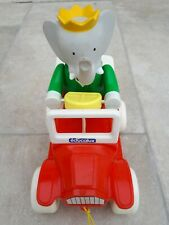Ancien jouet à tracter - Babar Educalux - Made in France