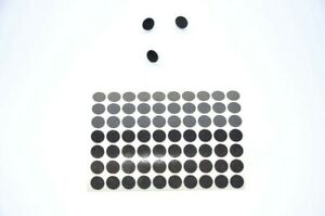 100 x Geocaching Reflectors Silver Sticky Dots Circles Night Cache Reflecting
