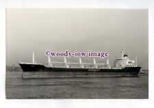 jc0326 - Blue Funnel Cargo Ship - Ajax , built 1973 - photograph J Clarkson