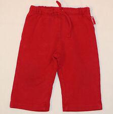 Jogginghose Freizeithose Hose in rot sportliche Mädchenhose Größe 74