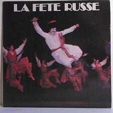"""33T LA FETE RUSSE Disque LP 12"""" TZIGANE PARIS NICOLAEFF Pub MAISON CONSEIL 004"""