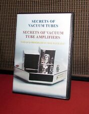SECRETS OF VACUUM TUBES and TUBE AMPS 4 DVD set for audiophiles & guitar players