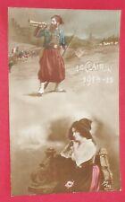 CPA GUERRE 14-18 CARTE PATRIOTIQUE 1915 ZOUAVE 1914-15 LE CLAIRON